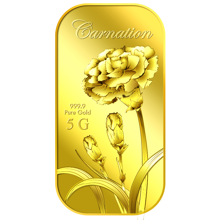 5g Carnation Gold Bar