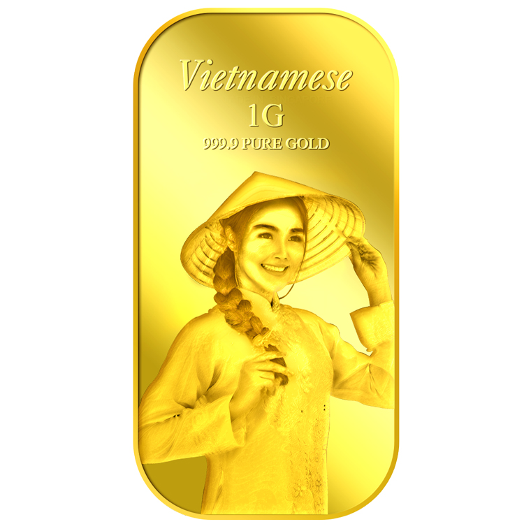 1g Vietnamese Gold Bar