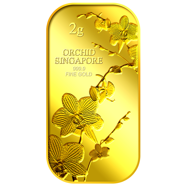 2g SG Orchid (Series 1) Gold Bar (Coming Soon)