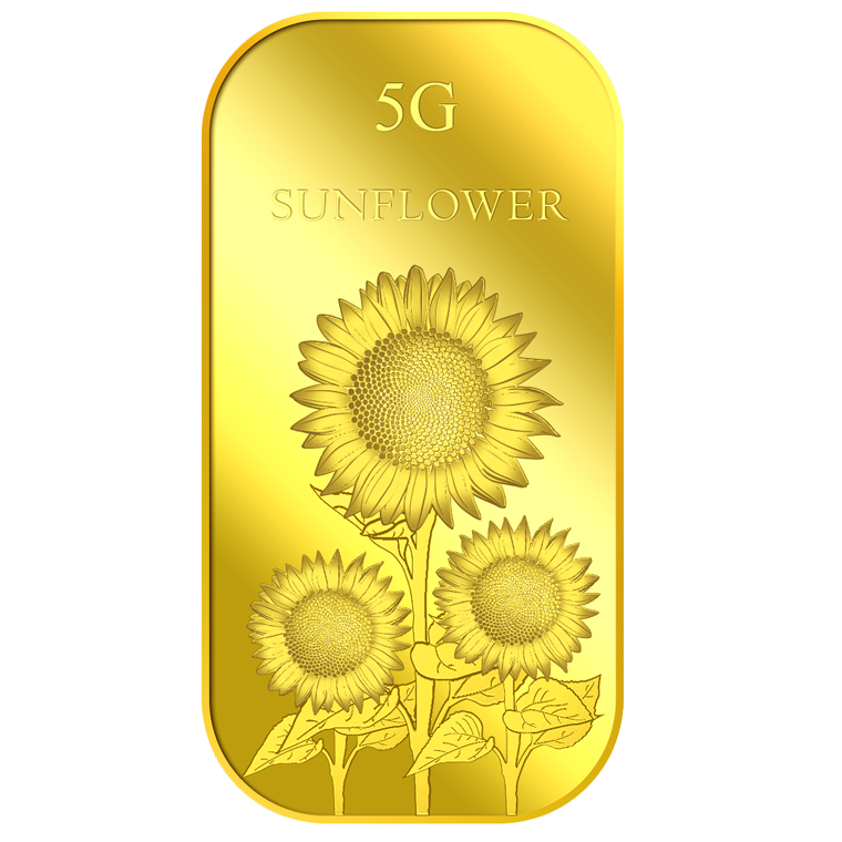 5g Sunflower Gold Bar